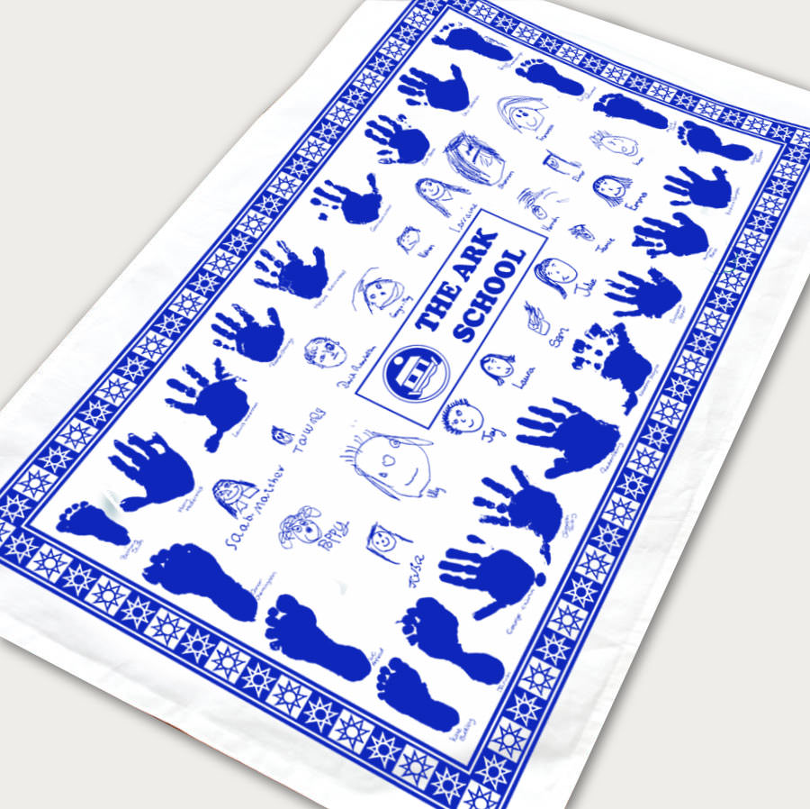 Single class school tea towel