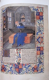 The Illuminate Page: Ten Centuries of Manuscript Painting by Janet Backhouse.