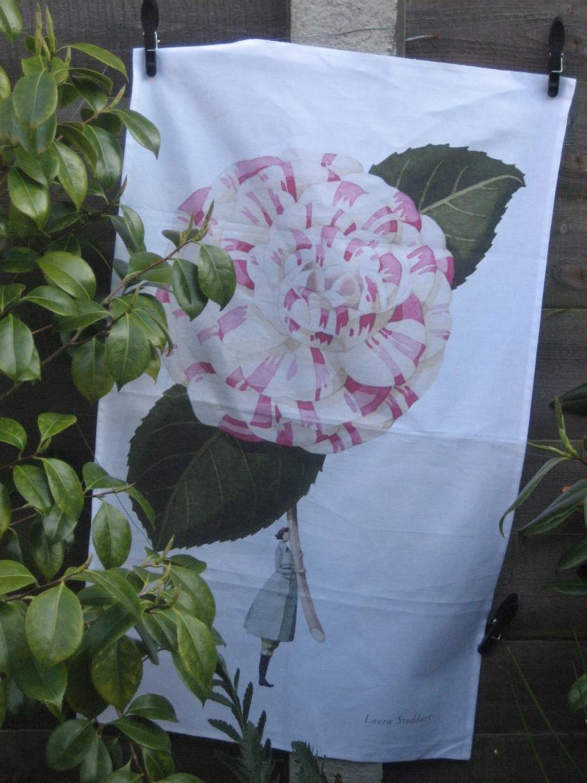 'Camellia' by Laura Stoddart. Winner of London Stationary Awards 2017