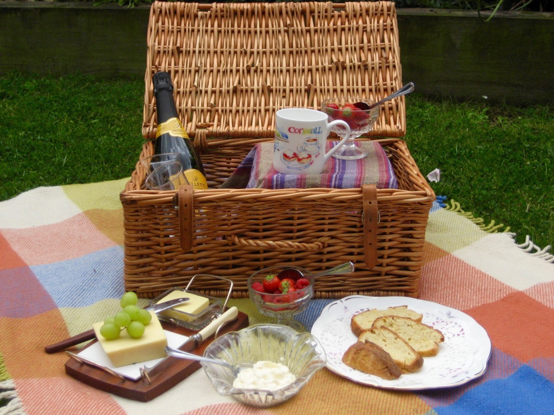 I went on a picnic and in my basket I took...