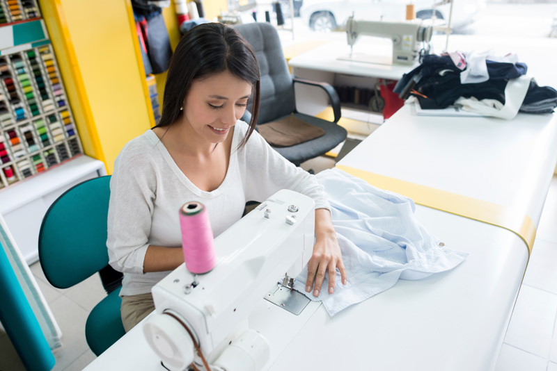 Stuart Morris Sewing Department