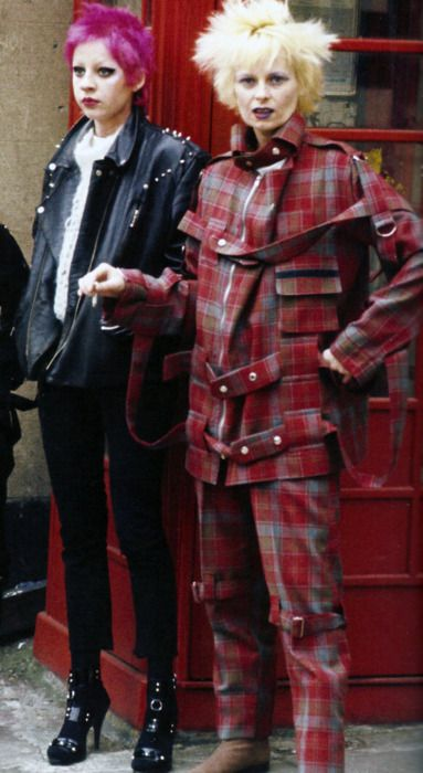The Mother of Punk fashion  Vivienne Westwood