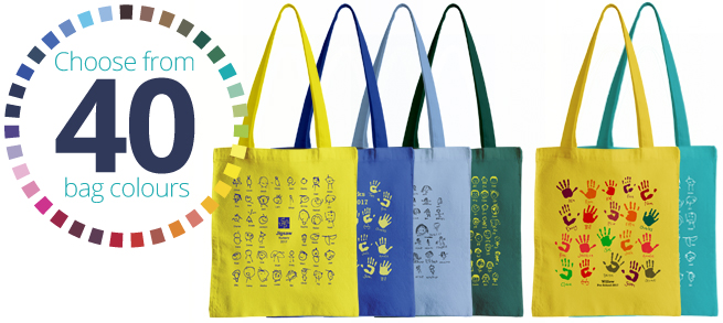 Cotton Bag Colour Options