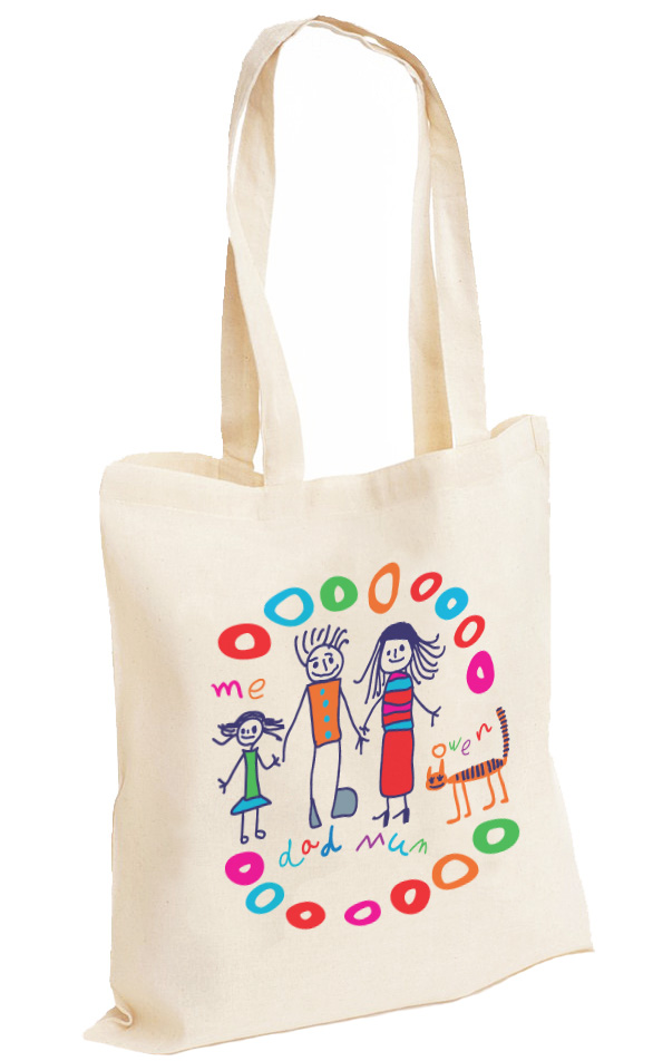 Cotton Bag Full Colour Print Individual Designs