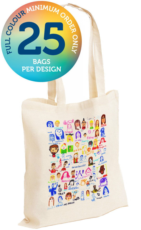 Cotton Bag Full Colour Print