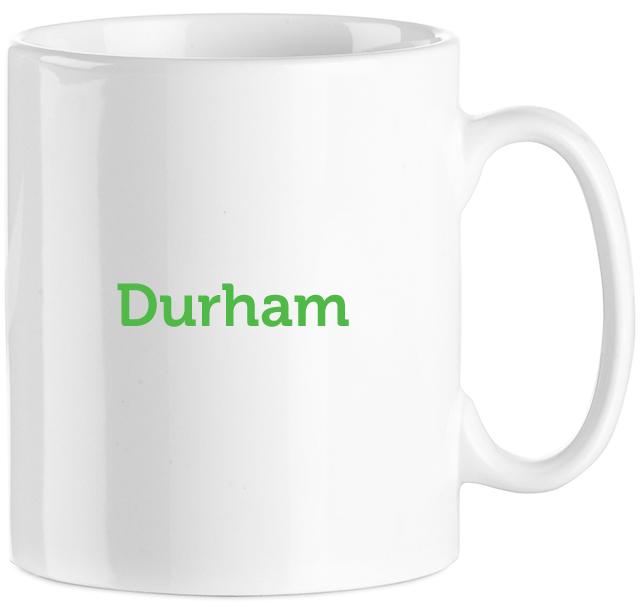 WhiteDurhamMug