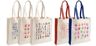 Stuart Morris School Canvas Bags