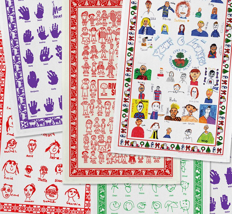 Stuart Morris School Fundraising Tea Towels
