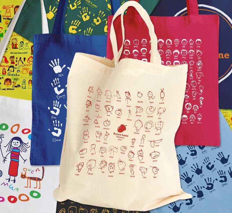 Stuart Morris School Fundraising Cotton Shopping Bags