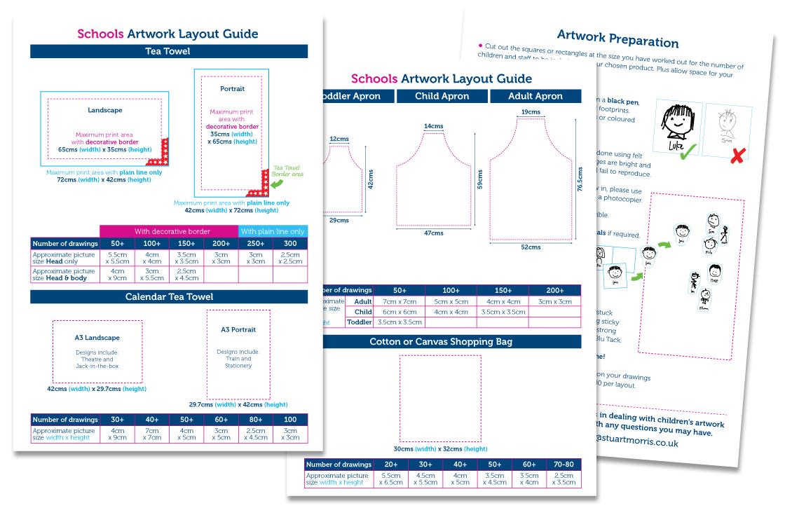 School Artwork Layout Guide