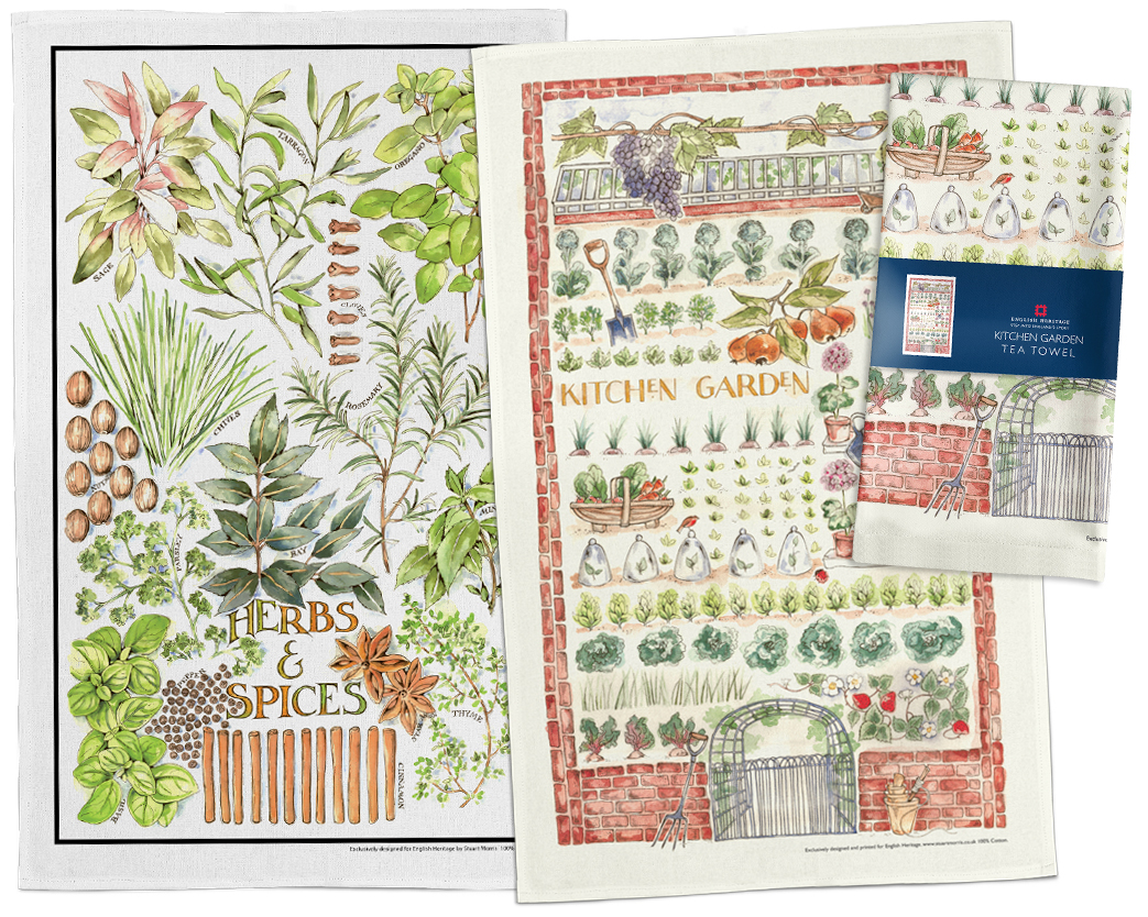 Herb and Garden Tea Towels
