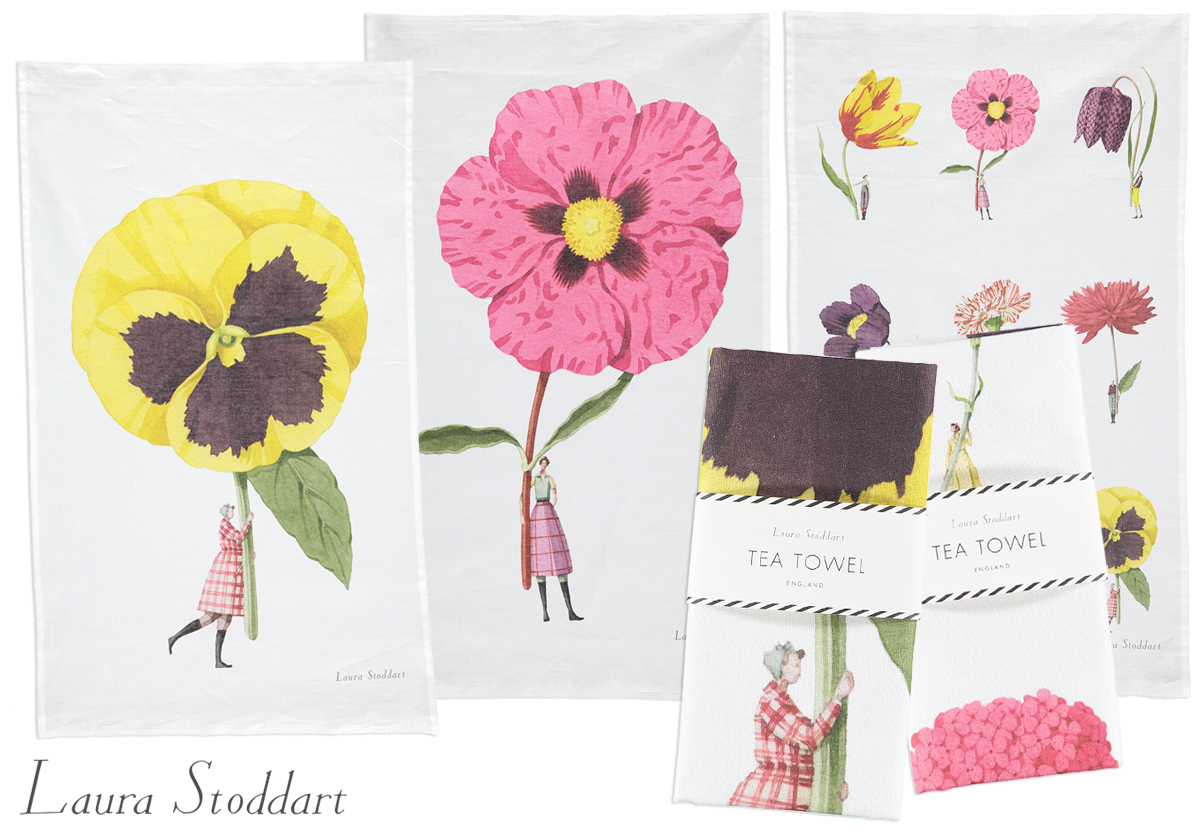 Laura Stoddart Tea Towels