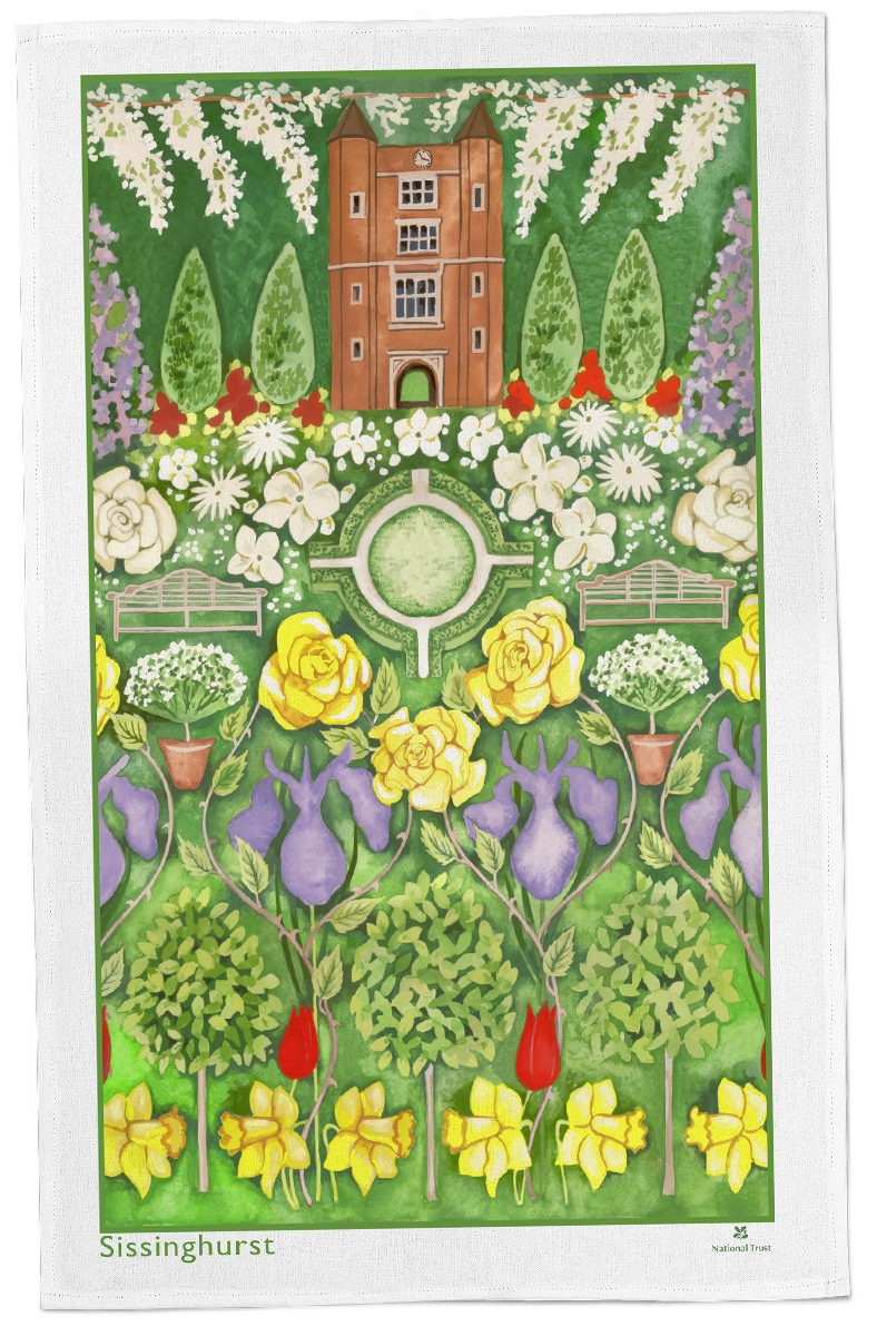 Sissinghurst Tea Towel