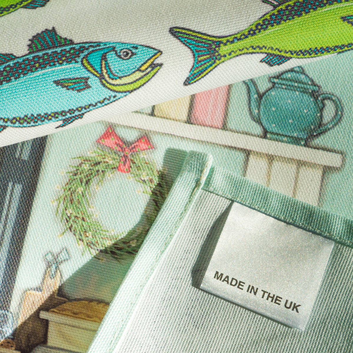 Care Label Tea Towel