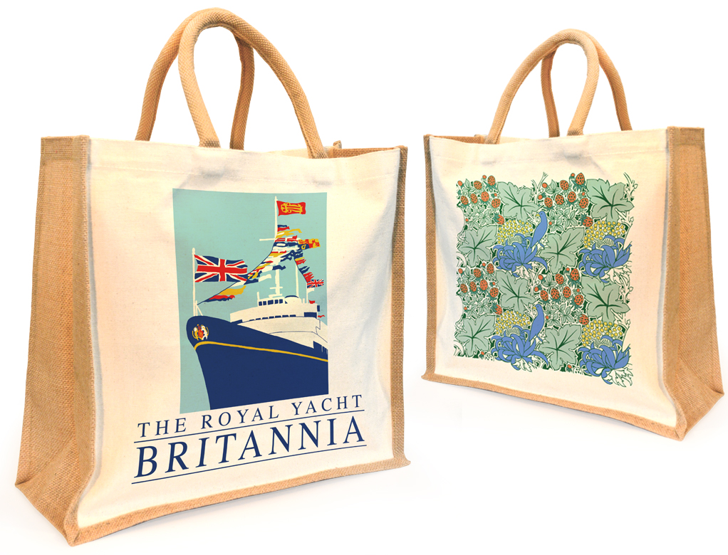 Jute Canvas Bags Stuart Morris