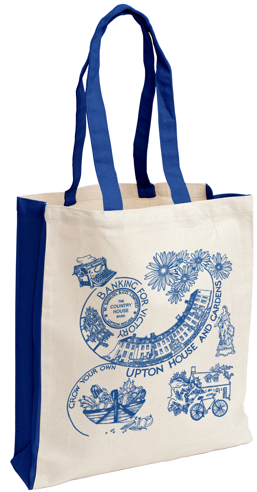 Canvas Bag Royal Blue